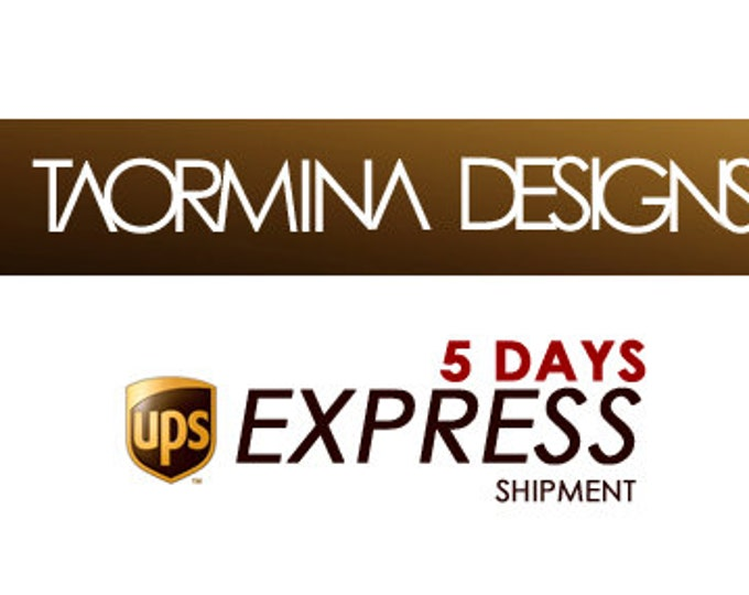 Faster production and Express Shipment Fee Upgrade
