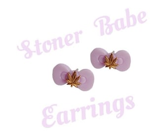 Stoner Babe Earrings (more colors avalible)