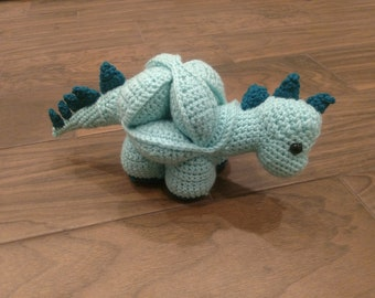 Dinosaur Amigurumi Puzzle Ball