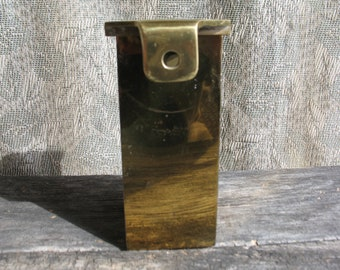 Old box for gifting brass Church.