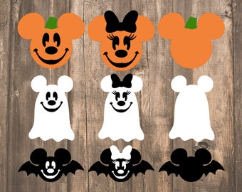 Halloween Disney Magic Band Decals | October Magic Band Decals