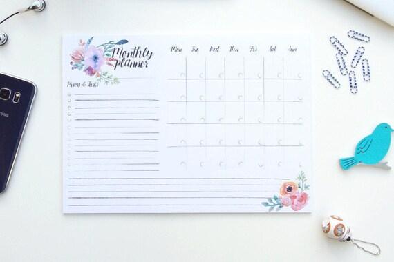 monthly schedule maker