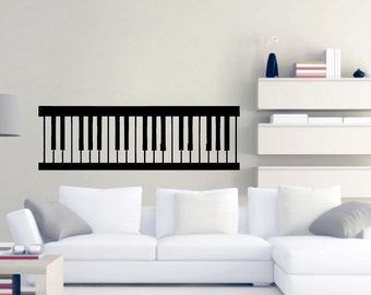 Piano Keys - Music Wall Decals