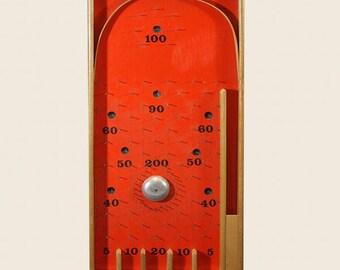 Vintage Bagatelle Board