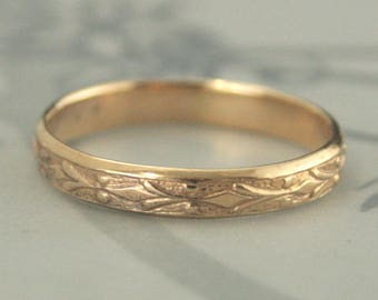 Vintage style ring etsy gold wedding bandedwardianvintage style ringantique style ringvintage style junglespirit Image collections