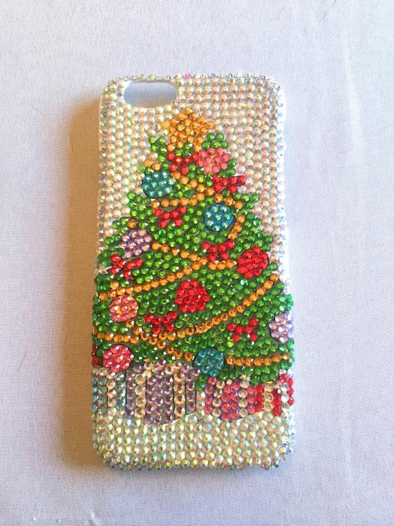 Rhinestone Christmas Tree Phone Case