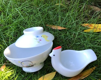 Two adorable porcelain Noritake pieces
