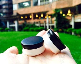 Plugs-Custom Plugs-Smoke Plugs-Resin Plugs[half black and half white-matt]