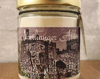 The Northanger Abbey Candle: Inspired by Jane Austen's Northanger Abbey // Mothers Day // Gifts for Her // Decor // Self Care // Decor
