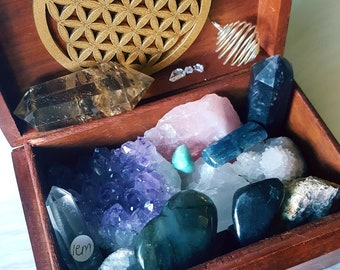 Custom Goddess Treasure Trove // Pick your budget // Crystal Collectors or Newbies