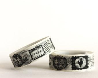 Postal Stamps Washi Tape