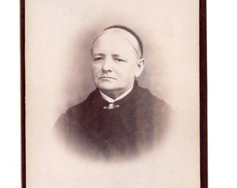 Antique Cabinet Card Photograph - Manchester New Hampshire - Mixed Media, Altered Art, Collage, Assemblage Supplies