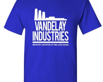 VANDELAY INDUSTRIES t-shirt tee shirt short or long sleeve your choice! all sizes many colors