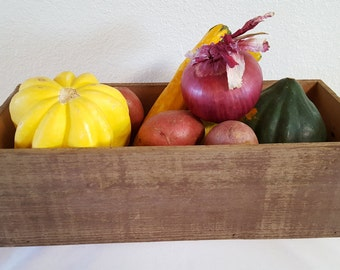 Barn wood centerpiece, planter Box
