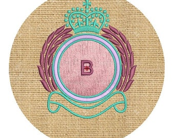 machine embroidery monograms blank design, BLANK MONOGRAMS, emb monograms,instant download file