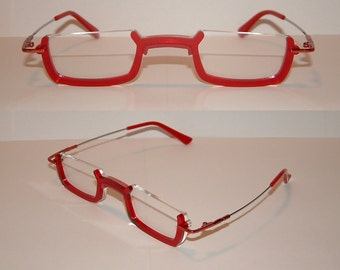 Anime Red Under Frame Cosplay Costume Glasses