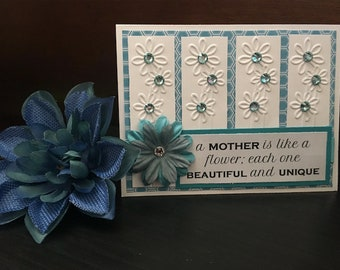 Mother's Day Card, Handmade Mother's Day Card