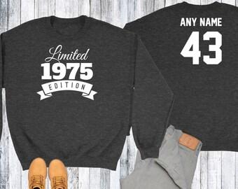 31 Year Old Birthday Sweatshirt Limited Edition 1987 Birthday Sweater 31st Birthday Celebration Sweater Birthday Gift xIkvjIk1
