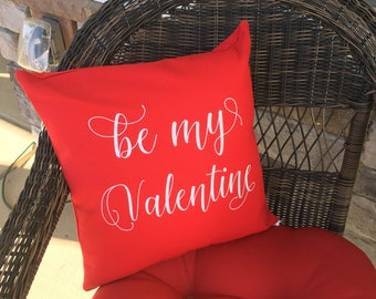 Be My Valentine Pillow Cover