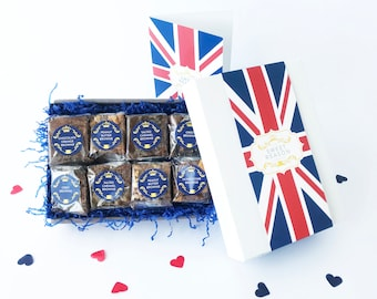 British Luxury Brownie Box