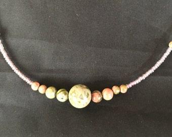 Unikite Beaded Necklace