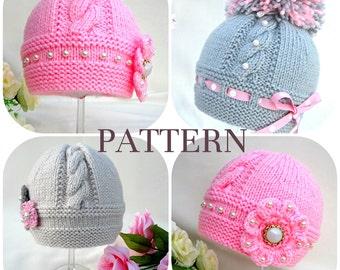 View patterns baby hat by solnishko43 on etsy knitting p a t t e r n knitting baby hat baby patterns knitted baby hat knitting pattern baby hats knitting hat dt1010fo