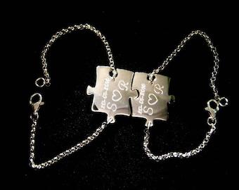 Silver Bracelet Puzzle