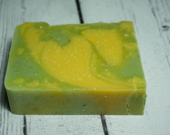 Avocado Soap, Handmade Cold Process Soap