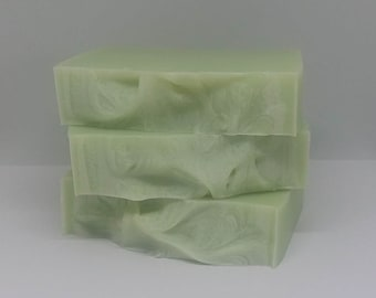 Eucalyptus & Spearmint bar soap, handcrafted soap, spa treatment, relaxation, bath and body, natural soap