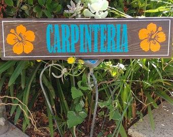 Carpinteria Sign #Carpinteria #pallets #wood