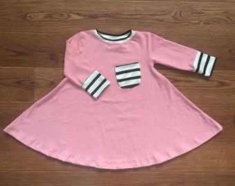 Girls pink twirl dress size 2/3