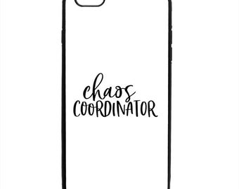 Chaos Coordinator Print Phone Case Samsung Galaxy S5 S6 S7 S8 S9 Note Edge iPhone 4 4S 5 5S 5C 6 6S 7 7S 8 8S X SE Plus