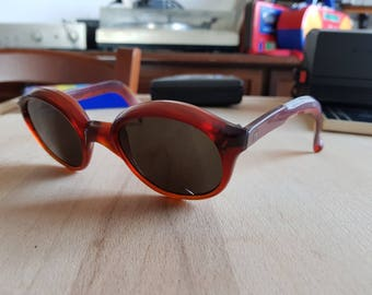 Crazy round 60s SAMCO sunglasses made in Italy