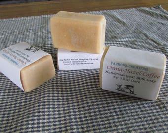 Cinna-Hazel Coffee Goat Milk Soap