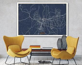 Olympia map Etsy