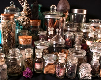 82 Herb Kit/ Witch's Apothecary/ Witch's Cabinet