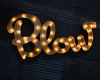 Retro Marquee Letter SET by FosterWeld - Price includes shipping