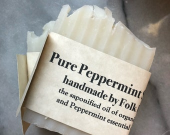 Pure Peppermint soap