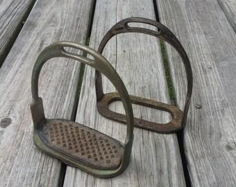 Vintage Stirrup Set Saddle Stirrups