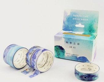 5 Rolls Japanese Washi Tape Masking Tape decoration Tape