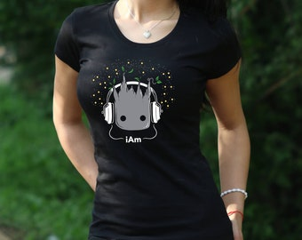 BABY GROOT Tshirt ich bin Groot Shirt Hüter der Galaxy T-Shirt Baby Groot  Damen Shirt ich bin Groot Tshirt Guardians of The Galaxy t-Shirt a707ebaff4