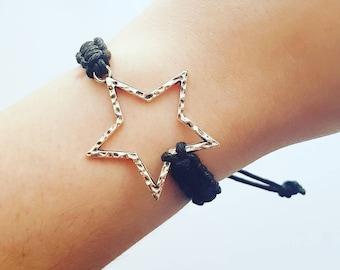 Star braid bracelet