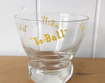 MEMORIAL DAY SALE vintage Eva Zeisal Lo Ball glass