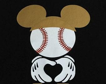 Custom Mickey Baseball shirts