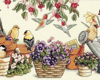 Garden Friends Stitch Pattern