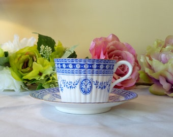 Victorian Wedgwood Bone China Cup and Saucer Collectors Piece