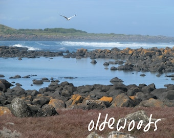 Port Fairy Beachscape - Downloadable Digital Image (text not included)