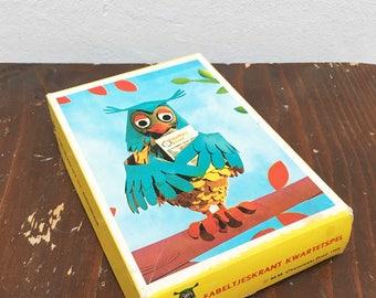 Complete vintage fabeltjeskrant Quartet game