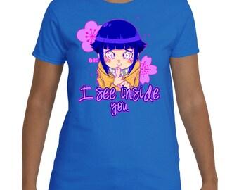 Naruto Shippuden Hinata Shirt | Hinata Shirt | Hinata T-shirt | Byakugan Shirt | Hinata Hyuga T-shirt | Hinata Uzumaki Shirt