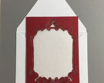 Note Card - Beautiful Cut-Out